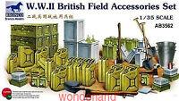 Bronco 1/35 3562 WWII British Field Accessories Set