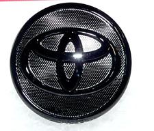 Toyota Black Wheel Center Cap with Emblem              OEM Toyota 42603-12780