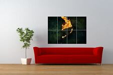 MANGA ANIME CARTOON JAPAN FAIRY TAIL FLAME FIRE GIANT ART PRINT POSTER NOR0721