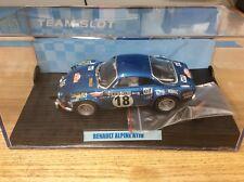 Team Slot 10701 Renault Alpine A110 Montecarlo '73