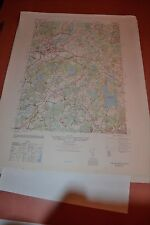 1940's Army topographic map Concord Massachusetts -Sheet 6768 Iv Ne