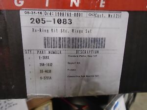1982-1983 gm 3.0L  3.2L  3.L  4.1L sealed power 205-1083 re ring kit  standard