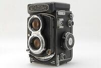 【N MINT】Minolta Autocord L CHIYOKO TLR Film Camera Rokkor 75mm f/3.5 From JAPAN