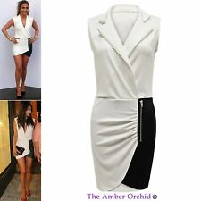 Polyester V Neck Patternless Dresses for Women