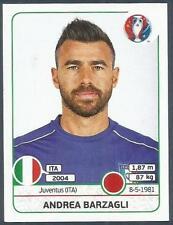 PANINI EURO 2016- #498-ITALY-ANDREA BARZAGLI