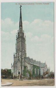 Canada postcard - St Michael's Cathedral, Toronto (A283)