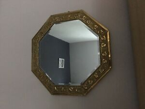 Vintage Octagonal Mirror