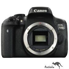 3YR AU WTY☆FREE POSTAGE☆Canon EOS 750D Digital Camera Body Brand New DSLR !!