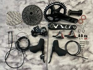 SRAM Force1 1X Disc 11spd Groupset: Crank Shifter R-Der Chain Calipers Cassette