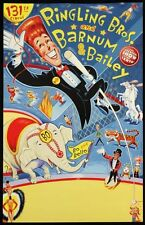 "2000 Ringling Brothers and Barnum and Bailey Circus Posters 14"" x 22"""