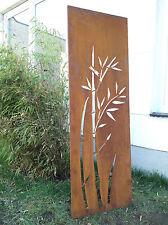 Edelrost Sichtschutz Wand Rost Sichtschutzwand Gartenzubehör,Metall 150*50 cm