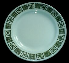 MADDOCK ULTRA VITRIFIED Marlowe Retro Green Design 9 3/4 inch Plate x1 (4 avail)