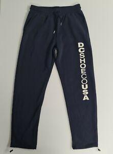 DC Shoe Co Mens Size M Blue Track Pants