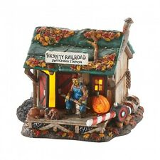 Department 56 Halloween Village HAUNTED RAILS OUTPOST 4049914 Railroad series