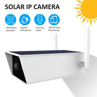 1080P Solar IP Camera 2MP Wireless Wi-Fi Security Surveillance Outdoor Camera W5