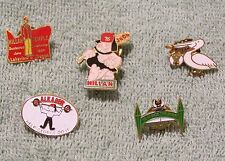 LOT#3 - 5 SHRINE PINS
