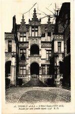 CPA Tours-L'Hotel Gouin-Possédé par cette famille depuis 1738 (266367)
