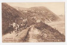 Lynmouth,U.K.Countisbury Hill,Horse Drawn Coach,Devon,1909