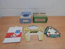 5 x  Vintage C.W.S Co-op Cardboard Shop Display Box Sign