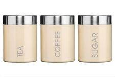 Premier Housewares Set di 3 Contenitori per Tè Zucchero e Caffè con