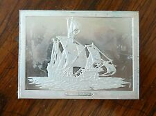Franklin Mint Great Sailing Ships of History Sterling Ingot Santa Maria