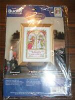 "BUCILLA Counted Cross Stitch Kit - CHRISTMAS PROMISES - EMMANUEL - 4"" x 6"""