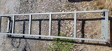 Van rear door ladder approx 5ft x 1ft for van or camper roof rack galvanized