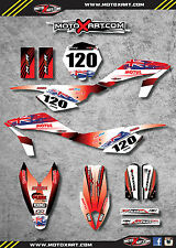 Husqvarna CR 65 - 2012 - 2015 Full  Custom Graphic Kit -AUSSIE PRIDE stickers
