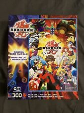 Bakugan Brawlers Cartoon Network Poster Size Puzzle 300 Pieces, new and SEALED!