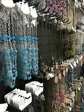 New Lot Of 40 Mix Fashion Jewelry Necklaces, Earrings, Bracelets Wholesale