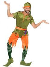 Déguisement Homme Lutin Elfe Gobelin XL Costume Adulte Disney Cinéma Médiéval