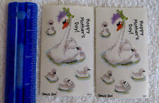 Suzy's Zoo - HAPPY MOTHER'S DAY - 2 Modules of SWAN Stickers
