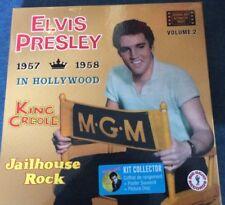ELVIS PRESLEY coffret de rangement 2 pack collector KING CREOLE JAILHOUSE ROCK