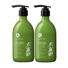 Luseta Macadamia and Argan Oil Shampoo and Conditioner Set (2 x 16.9 oz.)