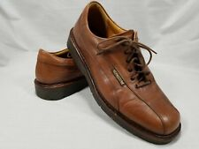 MEPHISTO Mens Brown Leather Shoes US Size 9.5 Air-Relax Goodyear Welt Oxfords