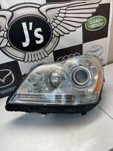 2010 2011 2012 mercedes benz gl450 gl 450 left Halo headlight oem used 10 11 12