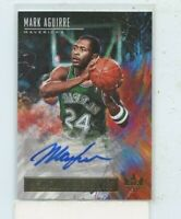 MARK AGUIRRE 2018-19 Panini Court Kings High Court Signatures Auto #D /149