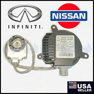 NEW OEM Infiniti G G35 G37 HID Xenon Headlight Ballast with long cord igniter