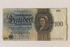 29979d Geldschein Banknote Deutsches Reich 100 Reichsmark 30.8.1924 Ro 171a BC