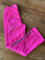 Under Armour Storm1 Running Athletic Sweat Pants Girl's Size M Pink Lightweight