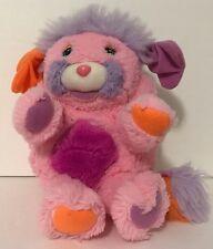 "1986 TCFC Popples Rare French Pink Edition Plush Popple 8"""
