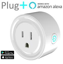 Plug+ Smart Plug WiFi Enabled Works with Alexa Remote Control Socket No Hub Req