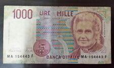 1000 Lire 1990 Italy paper bill