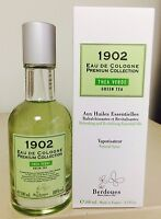 1902 EAU DE COLOGNE GREEN TEA UNISEX 3.3 OZ / 100 ML NIB