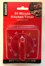 1  Ring Bell Alarm 60-Minute Kitchen Timer