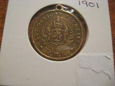 1901 Glasgow Exhibition medallion / token