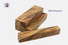Lot de 5 carrelets en bois d'olivier Français