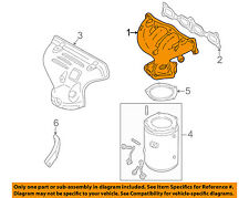 MAZDA OEM 99-01 Protege-Exhaust Manifold ZM0113450A