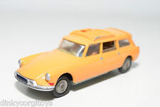 CORGI TOYS 436 CITROEN DS ID BREAK SAFARI YELLOW EXCELLENT CONDITION REPAINT