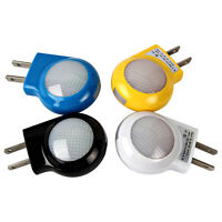 Mini LED Bulbs Auto Sensor Night Light Wall Plug-in Bedroom Baby Lamp EU/ US